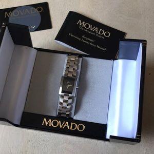 Movado Eliro watch, black